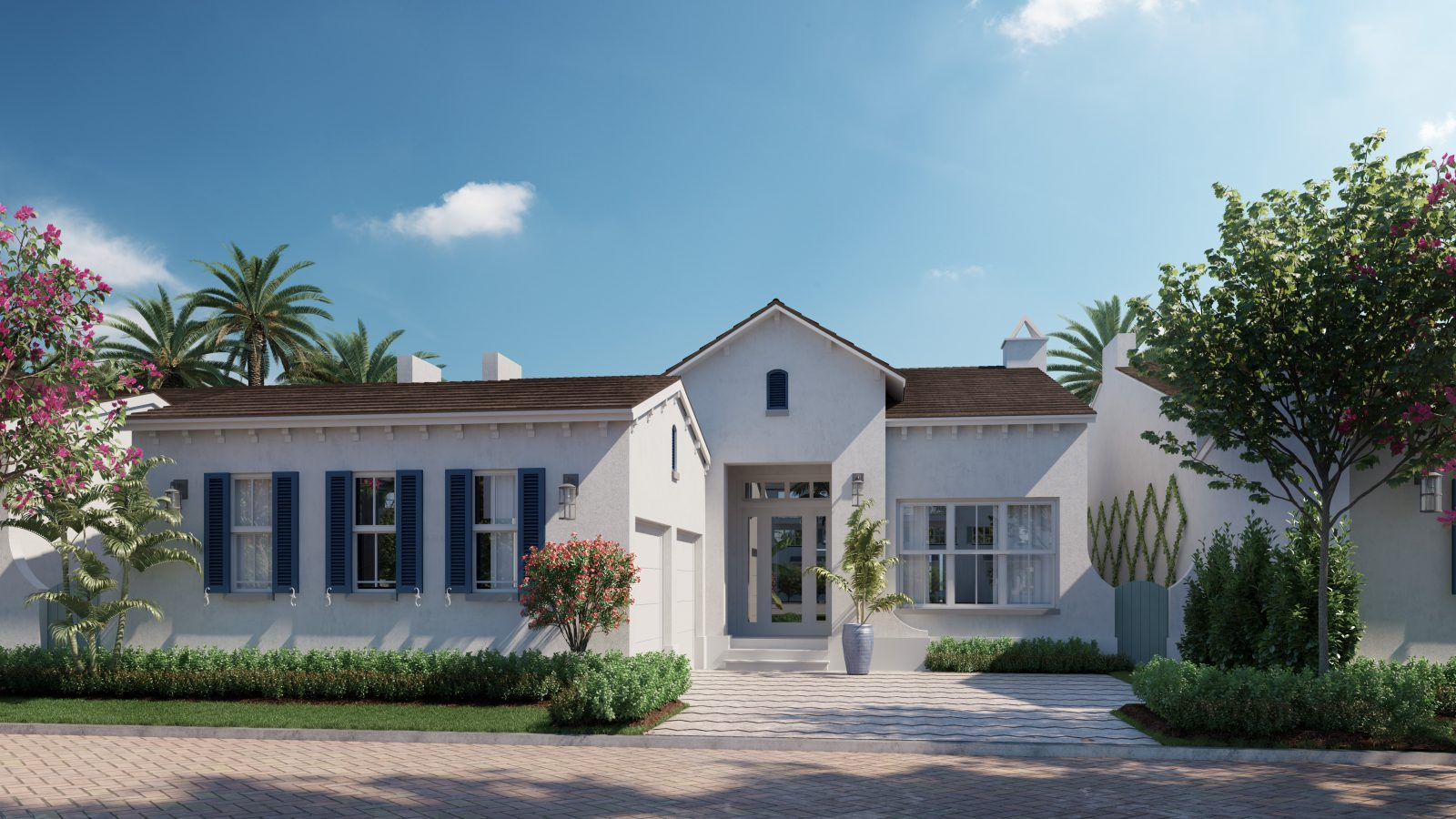 One-Story Villas